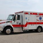 Ocean City Ambulance on the Beach