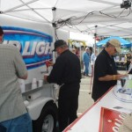OCPF members pouring beer at Springfest 2009