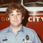 Throwback Photo of an Ocean City Firefighter