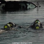 Ocean City Paramedics Dive Team in Water
