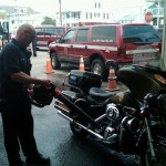 Ocean City MD Paramedics with Motorcycle