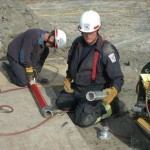 Ocean City Paramedics Working on Pipes