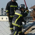 OCMD Paramedics on the Roof with Axe