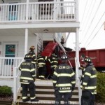 Ocean City Firefighters Entering a House
